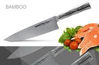 Нож кухонный, поварской Шеф Samura Bamboo SBA-0085