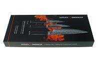 Набор из 3-х кухонных ножей Samura Damascus SD-0220
