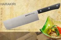 Кухонный нож, Накири 161 мм SAMURA Harakiri SHR-0043B