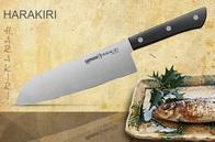 Кухонный нож, Сантоку 170 мм SAMURA Harakiri SHR-0095B